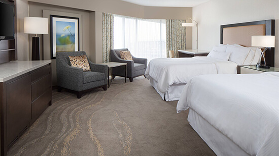 Westin Kansas City double rooms