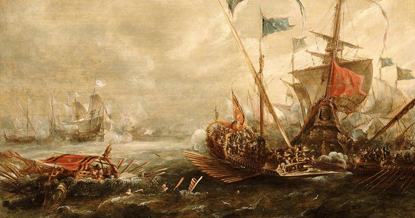 Spanish Engagement with Barbary Pirates