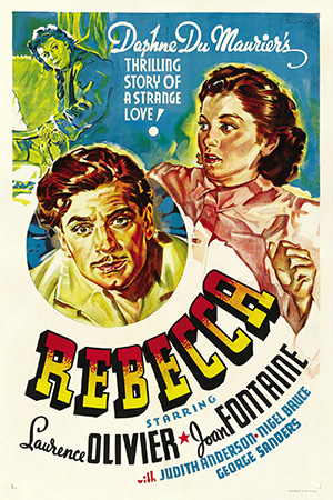 Rebecca movie poster