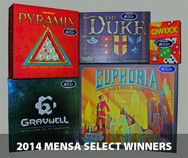 2014 Mensa Select Winners