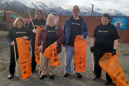 Alaska Mensa highway clean-up