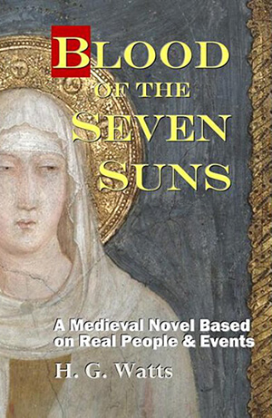 Blood of the Seven Suns book cover