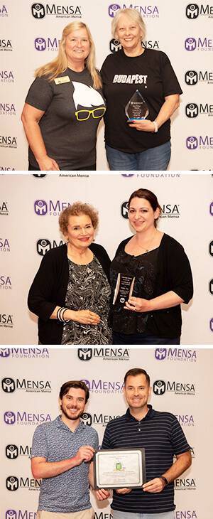 2019 Mensa Award winners composition