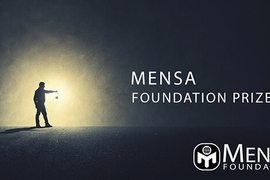 Nominations Open for $10,000 Mensa Foundation Prize for Creativity, Intelligence