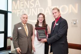 MENSA FOUNDATION  HONORS BOSTON DOCTOR