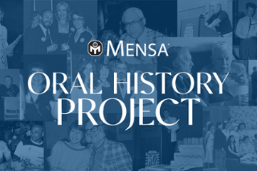 Your Story Helps American Mensa Write Its History