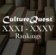 CultureQuest<sup>&reg;</sup> XXXI - XXXV Rankings