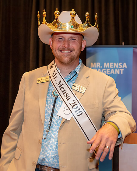 Jared Foote, Mr. Mensa 2019