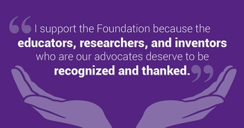 A Foundation for Giving Back