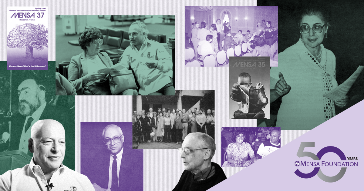 Mensa Foundation's 50-year History Portends Growing Support for Intelligence