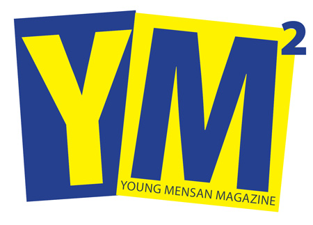 Young Mensan Magazine logo