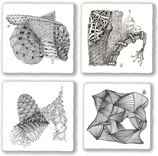 Zentangle graphic