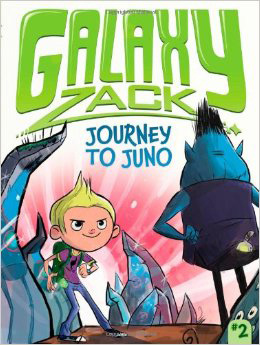 Galaxy Zach: Reis naar Juno cover
