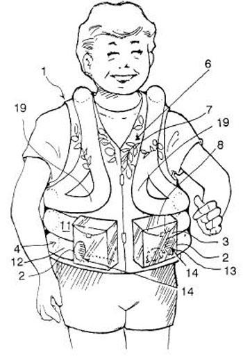 Pet Display Clothing patent