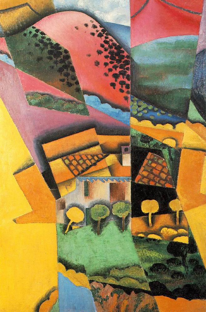 Landscape at Ceret, Juan Gris