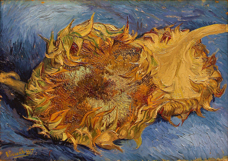 Sunflowers (1887), by Van Gogh