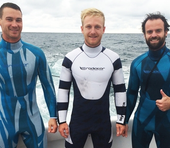 The Shark-deterrent Wetsuit
